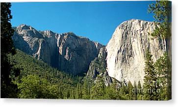 Mountain Terrain  Canvas Print
