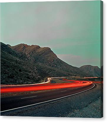 Mountain Zoom Canvas Print by Mark A Paulda