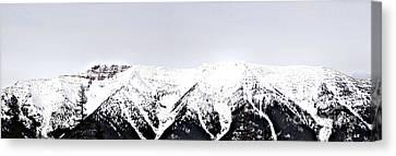 Mountains Majesty Canvas Print by Janie Johnson