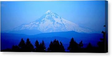 Mountian Blues Canvas Print