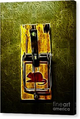 Kitschy Canvas Print - Mouse Trap - Version 2 by Wingsdomain Art and Photography