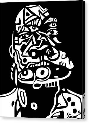 Mouthful Canvas Print by Kamoni Khem