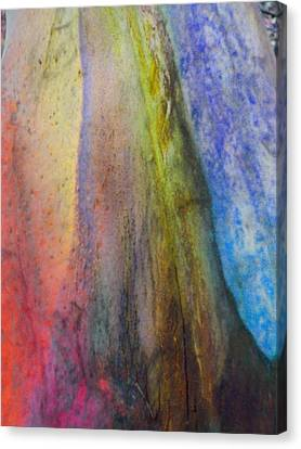 Canvas Print featuring the digital art Move On by Richard Laeton