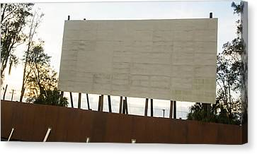 Movies And Popcorn Canvas Print by Nicholas Evans
