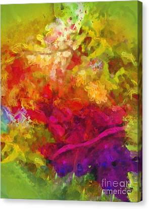 Moving Color Canvas Print by Lutz Baar