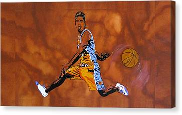 Canvas Print - Mr Assist Steve Nash by Bill Manson