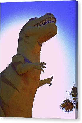 Mr. Rex 1 Canvas Print by Randall Weidner