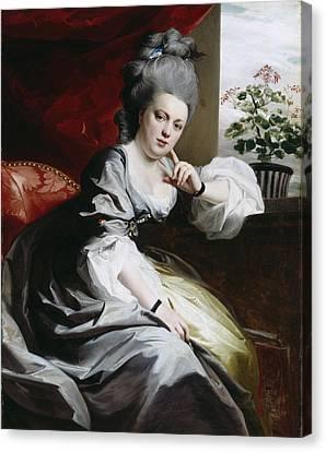 Mrs Clark Gayton Canvas Print by John Singleton Copley