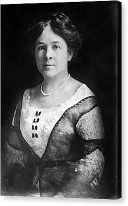 Mrs. Henry Ford, Nov 24, 1915 Canvas Print by Everett
