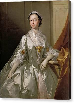 Mrs Wardle Canvas Print by Thomas Frye