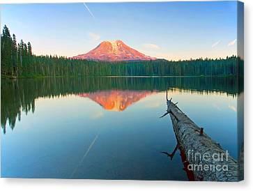 Mt. Adams Alpenglow Canvas Print