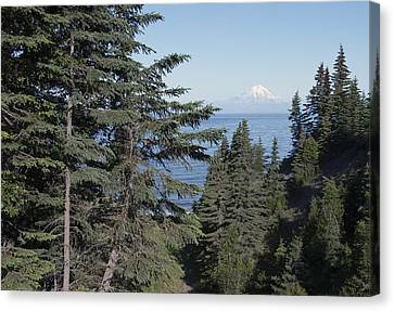 Mt. Redoubt View Canvas Print