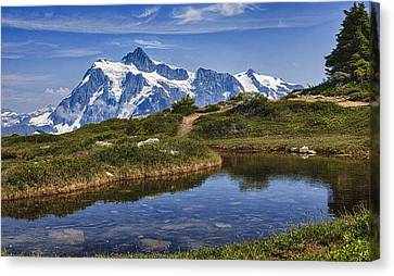 Mt Shuksan Canvas Print