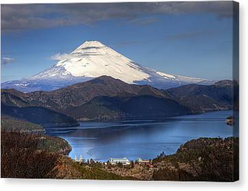 Mt.fuji And Lake Ashinoko-ii Canvas Print