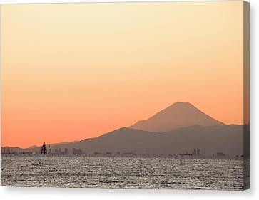 Mt.fuji Canvas Print by Sachiko's photography