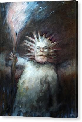Mtnman Canvas Print by Ethan Harris