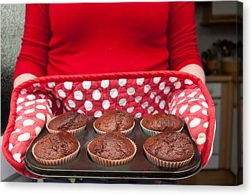 Muffins Canvas Print by Tom Gowanlock