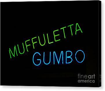 Muffuletta Canvas Print