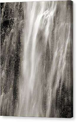 Multnomah Cascade 4 Platinum Canvas Print