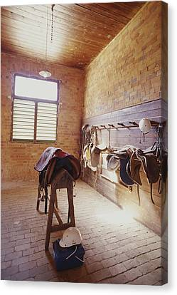 Mundiwa Station Tack Room Canvas Print by Jason Edwards