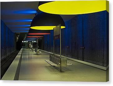 Munich Subway No.3 Canvas Print by Wyn Blight-Clark