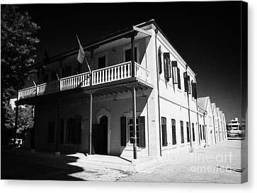 Municipal Cultural Centre And City Museum And Archives In The Restored Old Colonial Port Larnaca  Canvas Print by Joe Fox