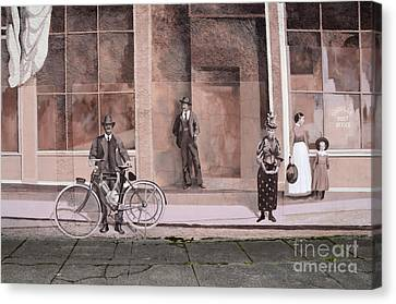 Mural Art Oregon 1 Canvas Print by Bob Christopher