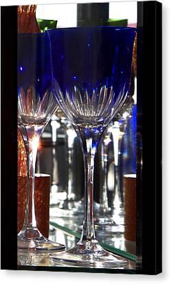 Canvas Print featuring the photograph Murano Glass by Raffaella Lunelli