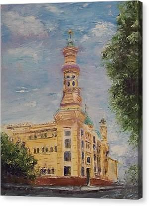 Murat Shrine Temple Canvas Print
