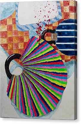 Murder She Wrote Canvas Print by David Raderstorf