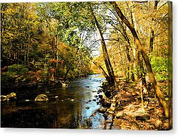Musconetcong River Canvas Print