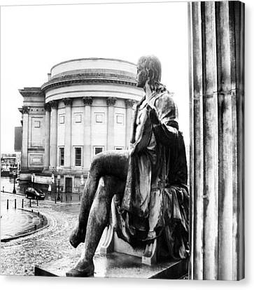 #museum #liverpool #classic #old Canvas Print