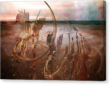 Music By The Sea Canvas Print