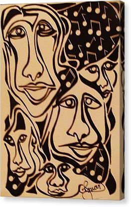 Musica Canvas Print - Music Minded  Sold by Gerri Rowan