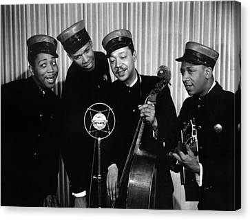 Music: The Ink Spots Canvas Print by Granger