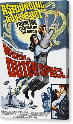Dolores Canvas Print - Mutiny In Outer Space, Top Center by Everett