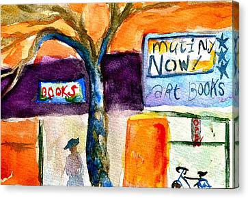 Mutiny Now Canvas Print by Beverley Harper Tinsley