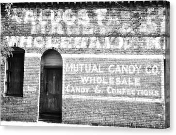 Mutual Candy Company Canvas Print by Jan Amiss Photography