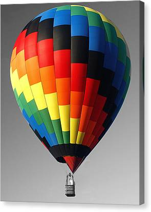 Canvas Print featuring the photograph My Balloon   by Raymond Earley