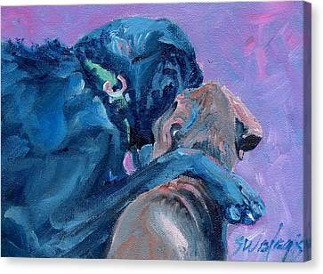 My Brother Canvas Print by Sheila Wedegis