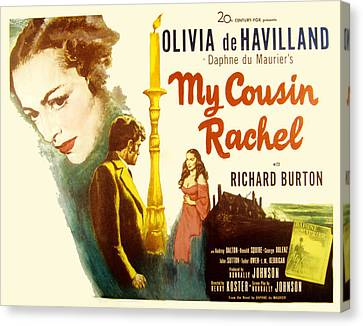 My Cousin Rachel, Olivia De Havilland Canvas Print by Everett