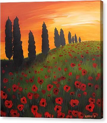 My Dear Tuscany Canvas Print by Lynsie Petig