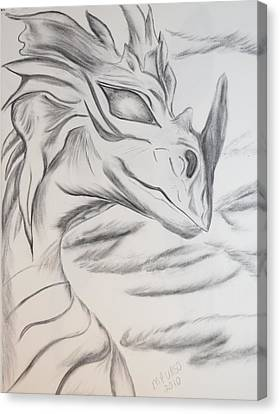 My Dragon Canvas Print by Maria Urso