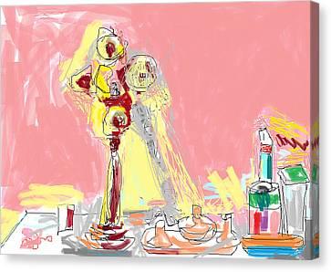 My Dresser Canvas Print by Anita Dale Livaditis