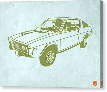 My Favorite Car 2 Canvas Print by Naxart Studio