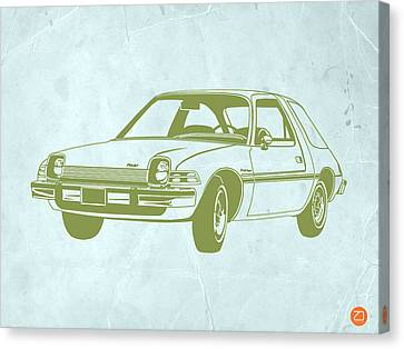 Old Canvas Print - My Favorite Car  by Naxart Studio
