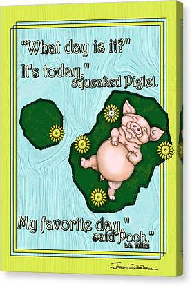 My Favorite Day Canvas Print