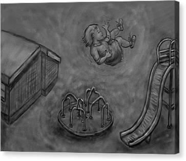 My First Dream - Floating Canvas Print by Dawn Senior-Trask