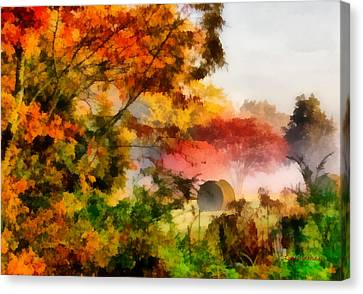My Front Yard Canvas Print by Lynne Jenkins