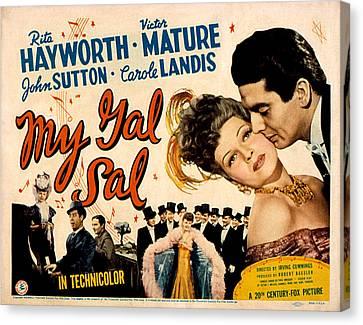 My Gal Sal, Rita Hayworth, Phil Canvas Print by Everett